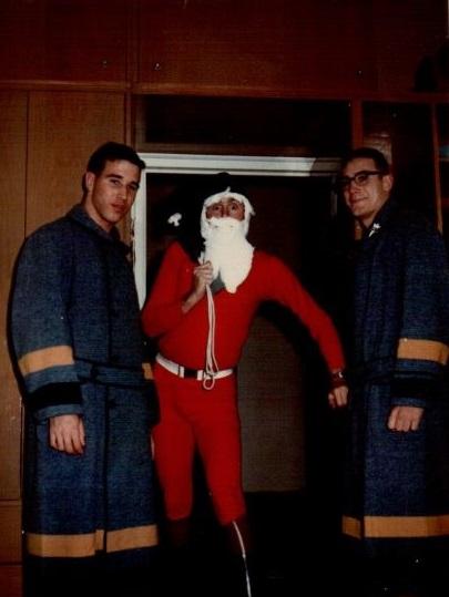 Christmas 1966, left Duffy, Watson, and Garrett