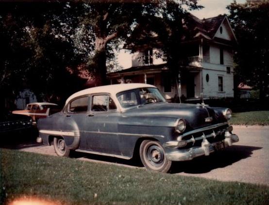 My first car, 1954 Chevrolet Bel Air