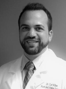 Dr. Carl Kihm. Louisville, KY Podiatrist
