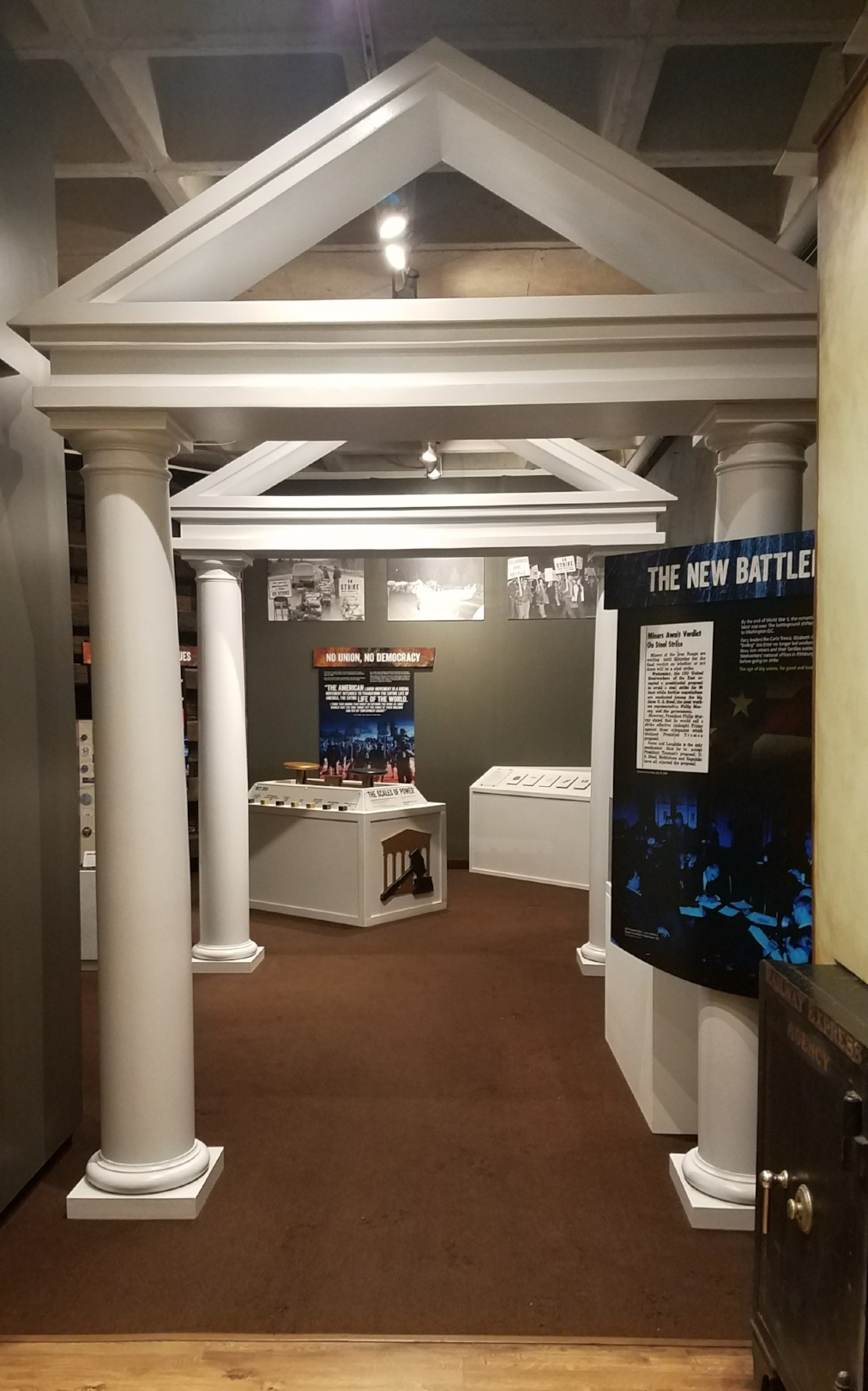 Blue Collar Battleground Exhibit, 2017