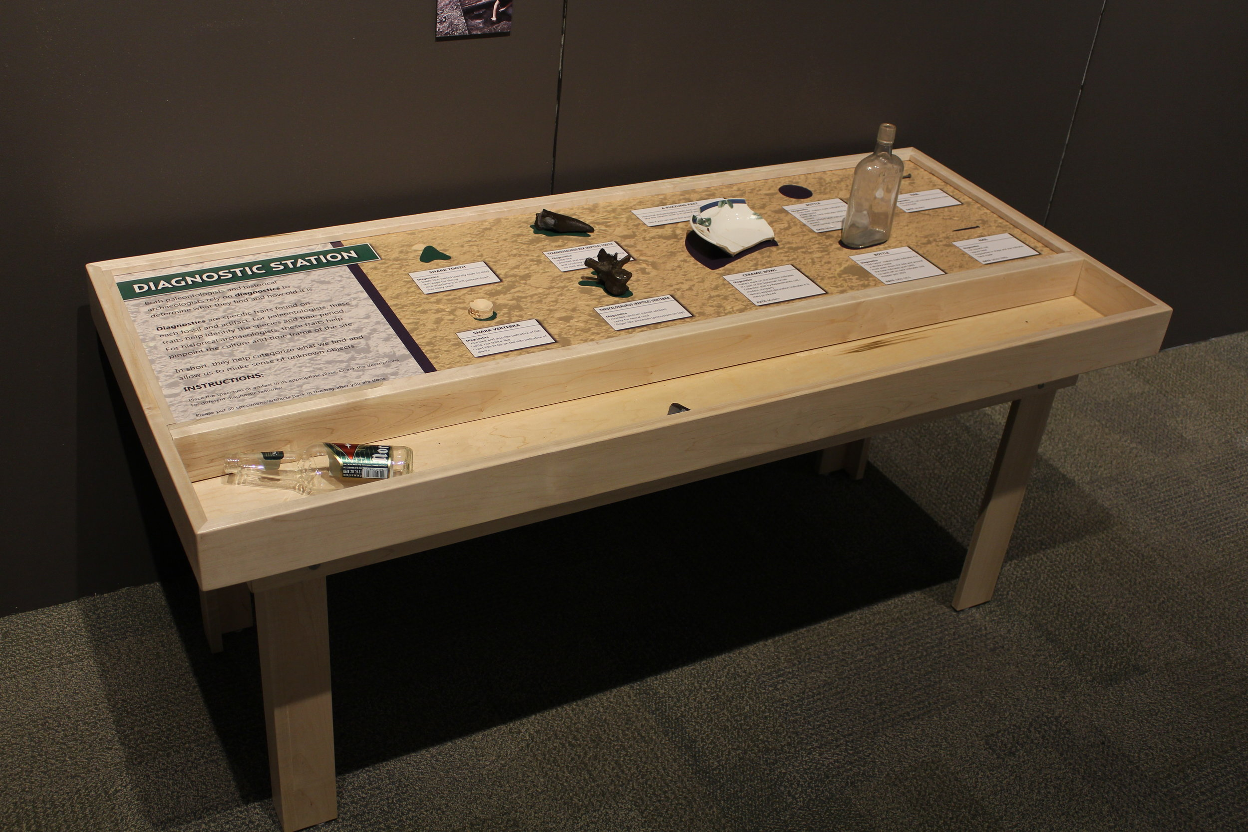 Interactive Tables, 2018