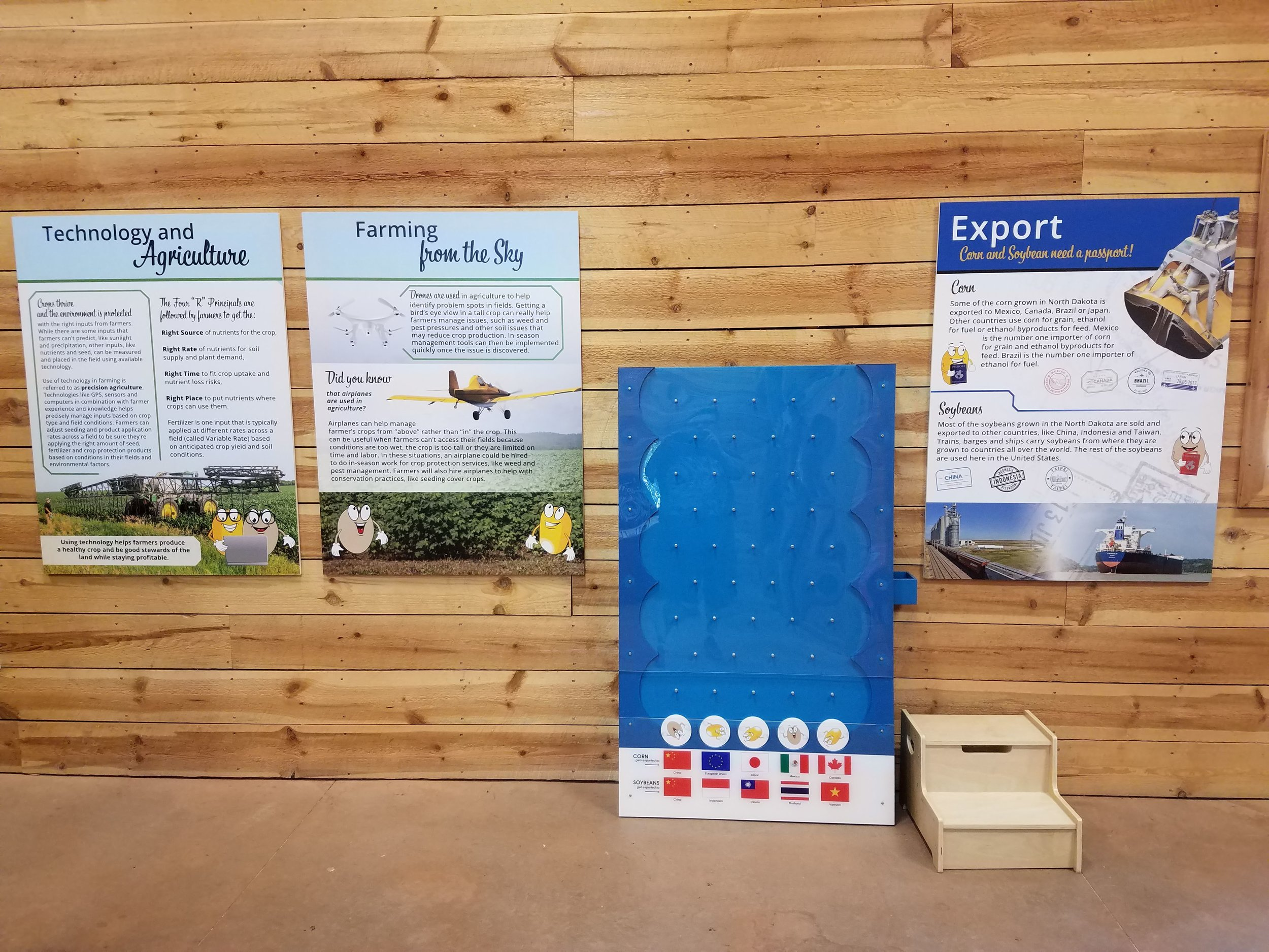 Red River Zoo agricultural exhibit 2018