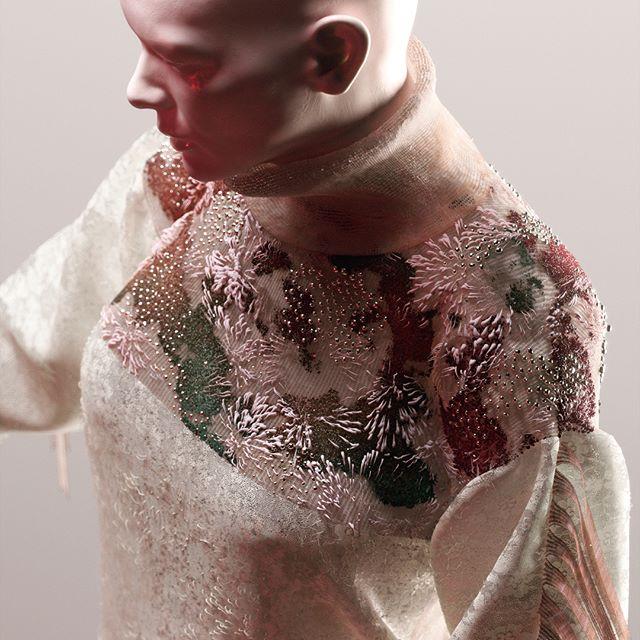 Textiles Exploration 02 • Having some fun with @marvelousdesigner 👘