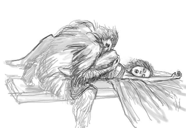 ICONIC ✨ Warm up sketch. No time to finish. #art #artist #drawing #dracula #bramstokersdracula #sketch #sketchbook #figuredrawing