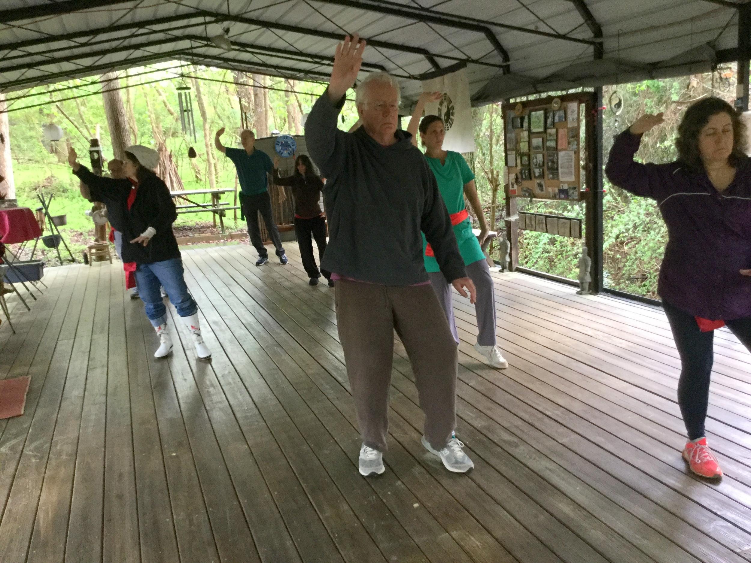 Taiji at Black Bamboo Pavilion