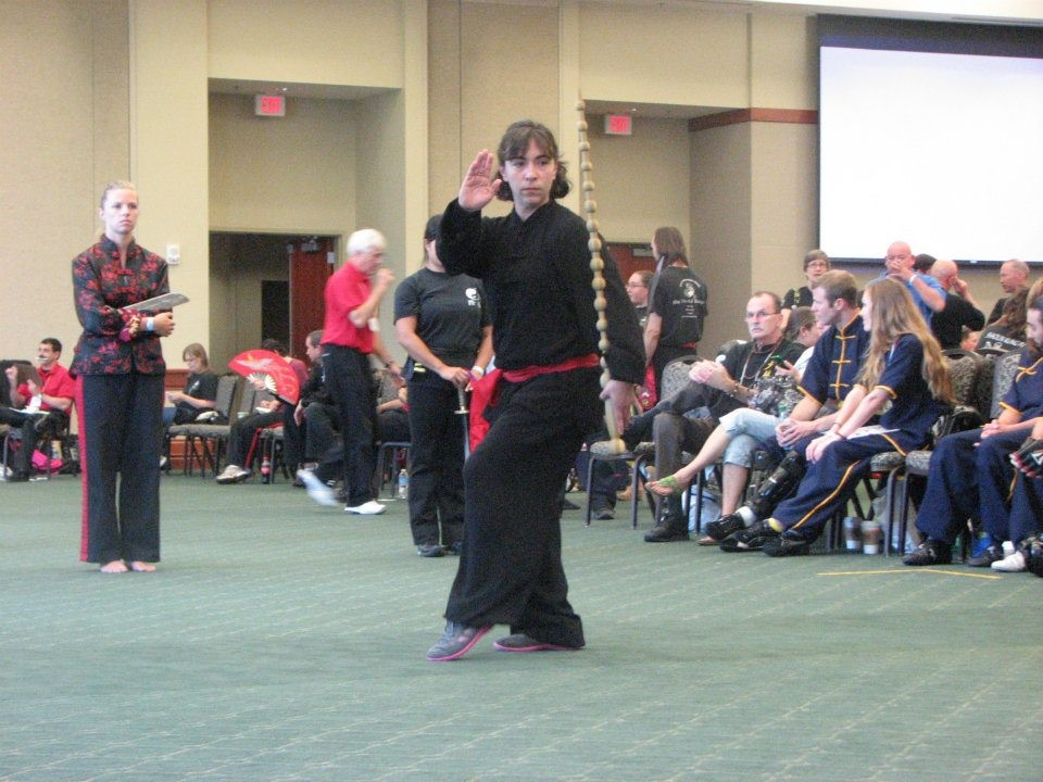 Taishi Bien (Placed Second Kungfu Weapons, Women's Division)
