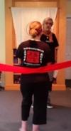 red sash ceremony Desiree Goldman