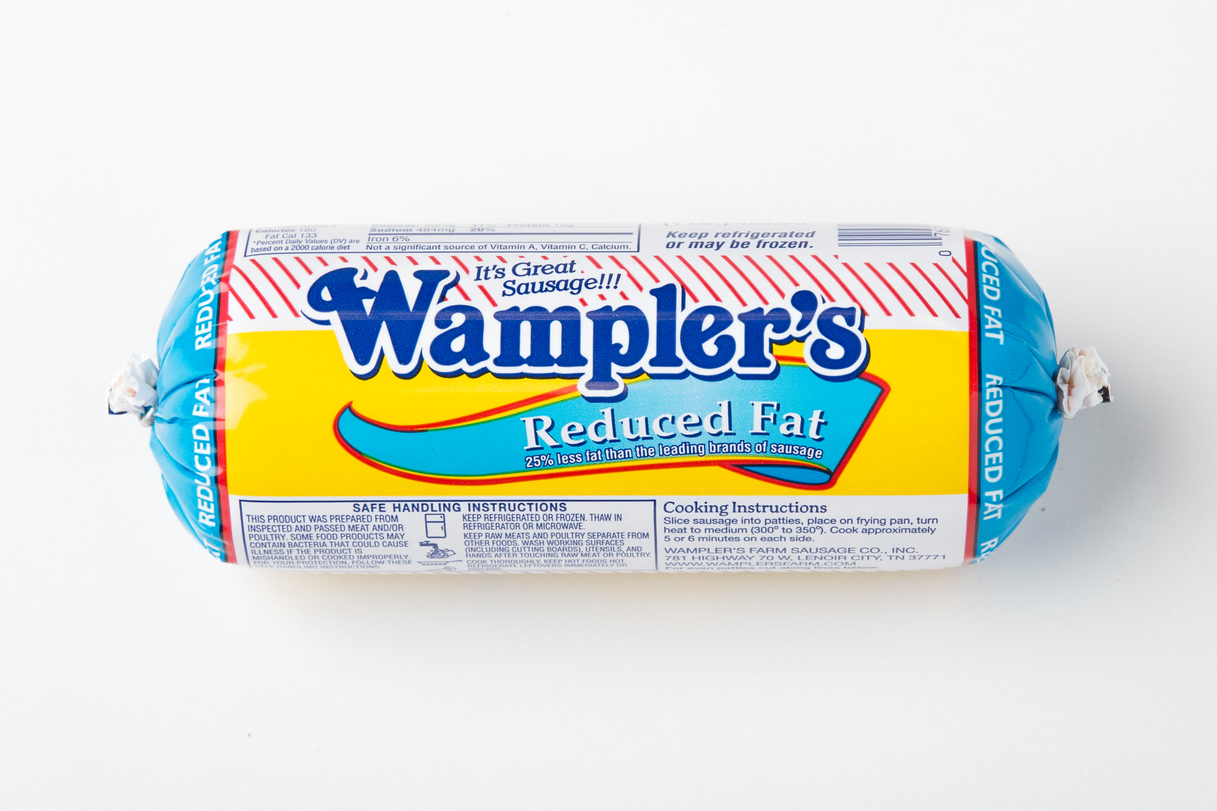 Wampler's Farm Sausage Reduced Fat Roll
