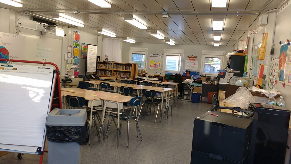 Photos from a site visit to a classroom at Riverdale Country School