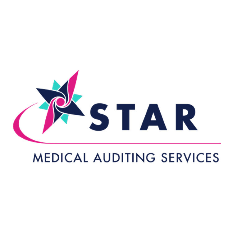 STAR-medical-auditing-services-logo-design