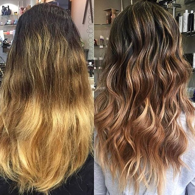 #Repost @dougoconnell13 with @repostapp ・・・ Before/after on my client 🎨🎨 #hair #haircut #hairking #hairlove #hairporn #hairpost #haircolor #hairstyle #hairtip #hairbydoug #hairbrained #hairstylist #balayage #balayagecolor #ombre #ombrehair #salon5150 #brea #trim #healthy #long #beautiful #modernsalon #btcpics #behindthechair #dougoconnell #angelofcolour #hairdressermagic