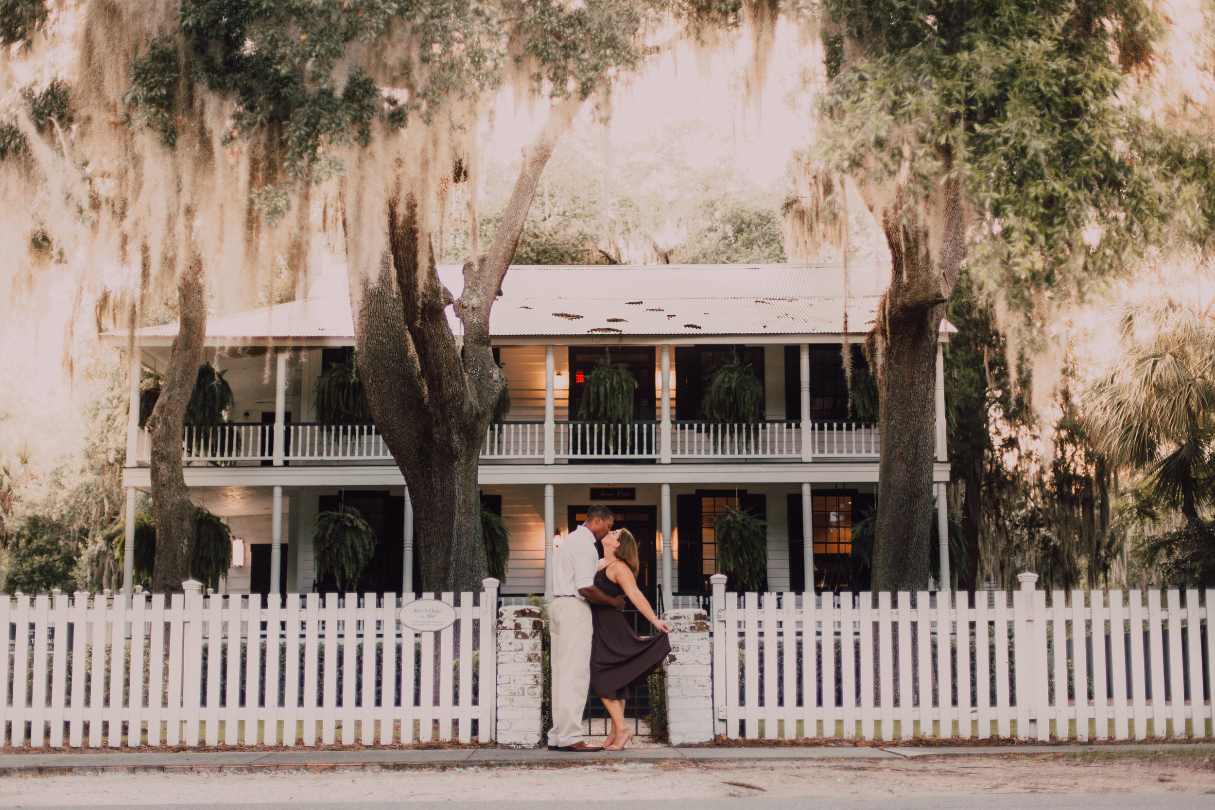 Old Town Bluffton Engagement -