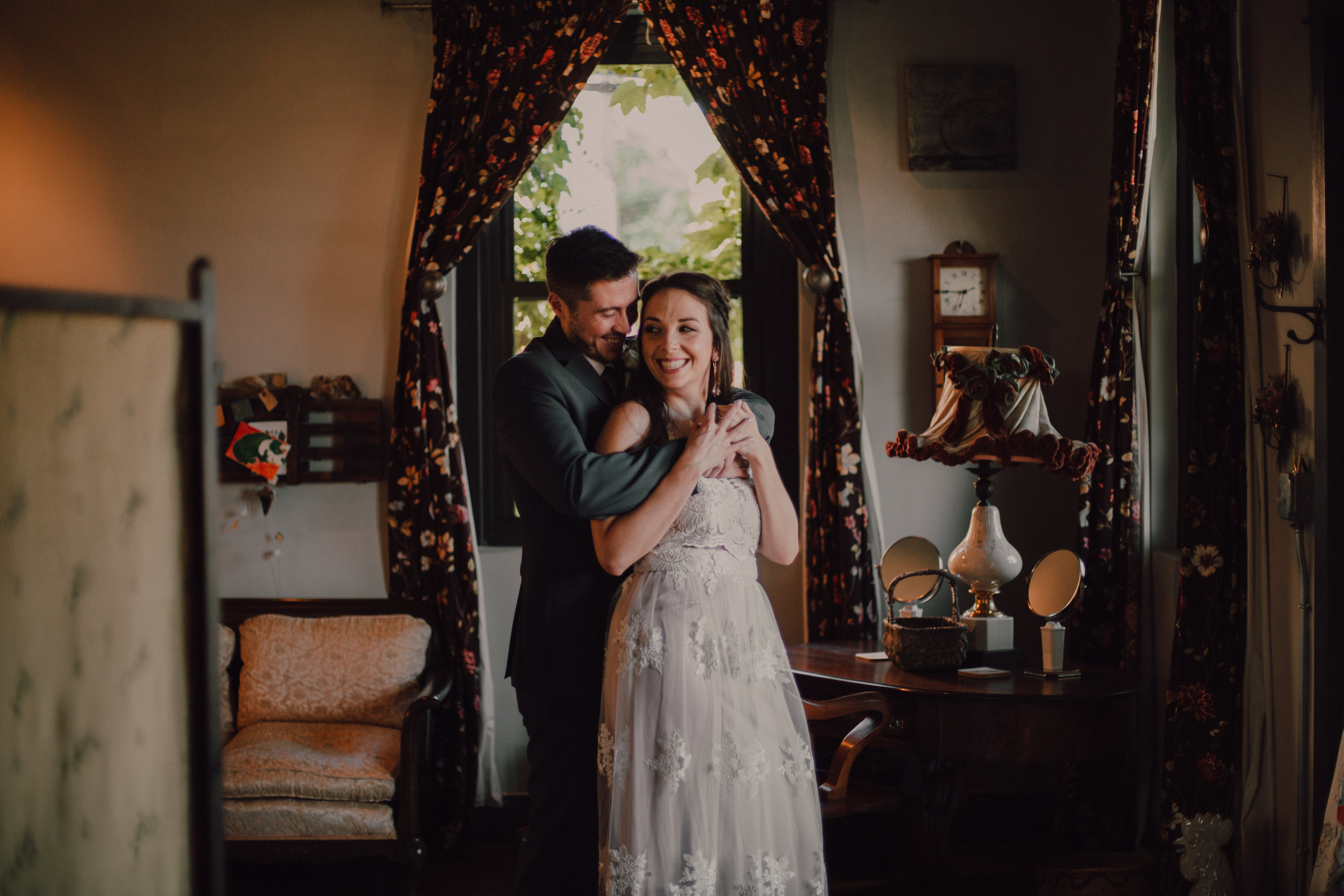 Intimate North Side Chicago Wedding - Venue: Firehouse ChicagoFlowers: A Pretty FlowerDonuts: Firecakes DonutsENGAGEMENT SHOOT