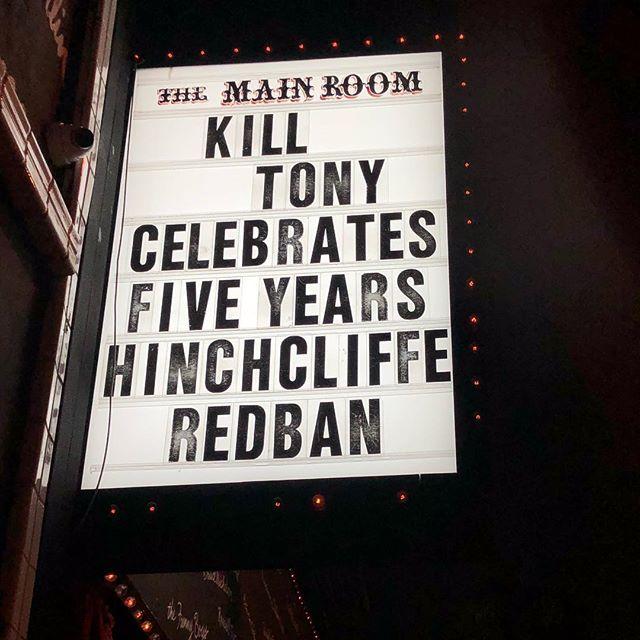 Kill Tony 5 years Marquee.jpg