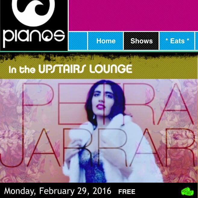 For more information, visit:http://www.pianosnyc.com/upstairs/petra-jarrar-22916