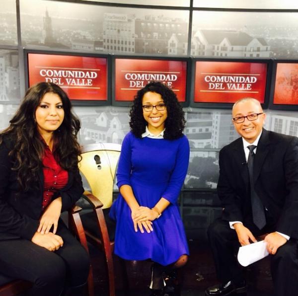 My first Spanish interview alongside a Year Up alumni on NBC Bay Area/Telemundo's  Comunidad del Valle.
