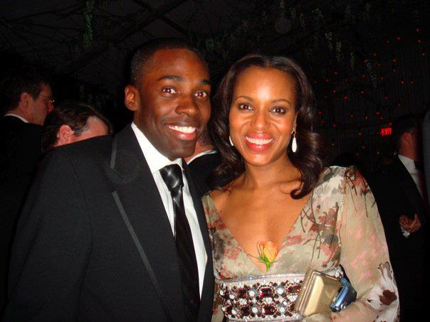 Bloomberg Coresspedence Dinner After Party w/ Kerry Washington