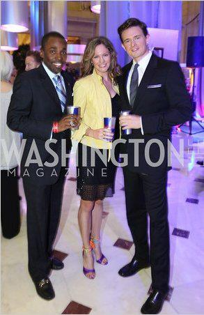 Red Bull Party in Washingtonian Magazine