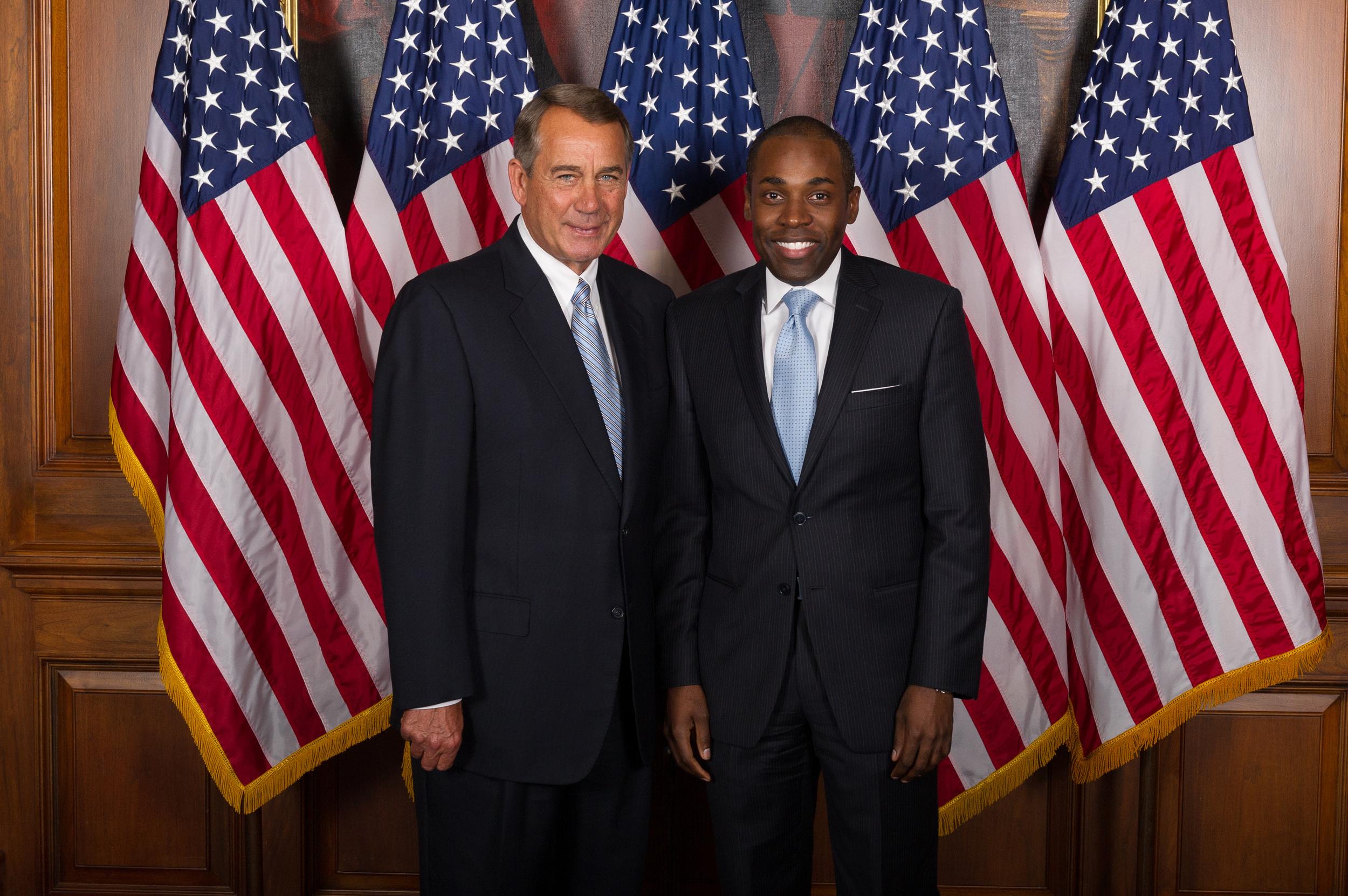 Farewell Photo w Speaker John Boehner