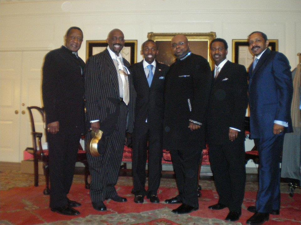 Map Room w/ The Temptations