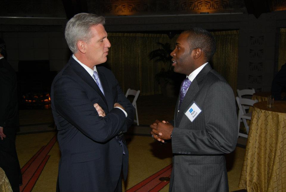 With Majority Leader Kevin McCarthy