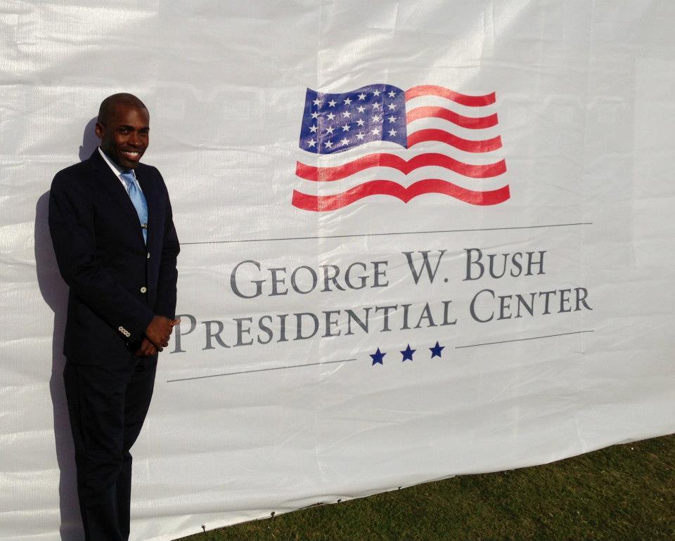 Dallas Bush Library Opening