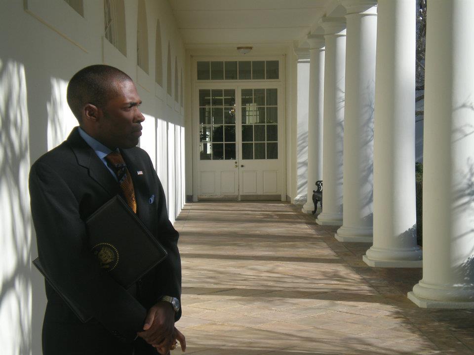 White House Collanade