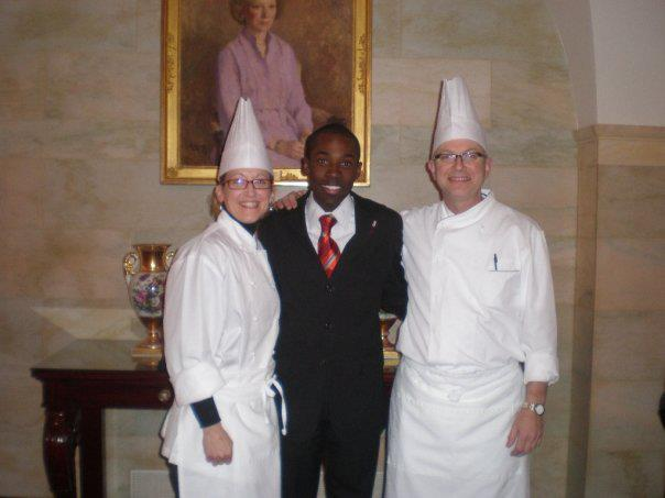 After an event inside the White House w the Chefs