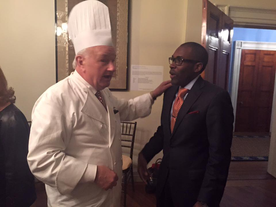 Telling White House stories with White House Pastry Chef Mesnier