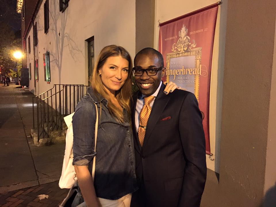 With HGTV's Genevieve Gorder