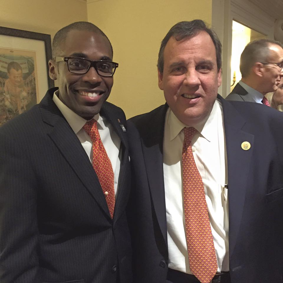 Reception w/ Gov. Chris Christie