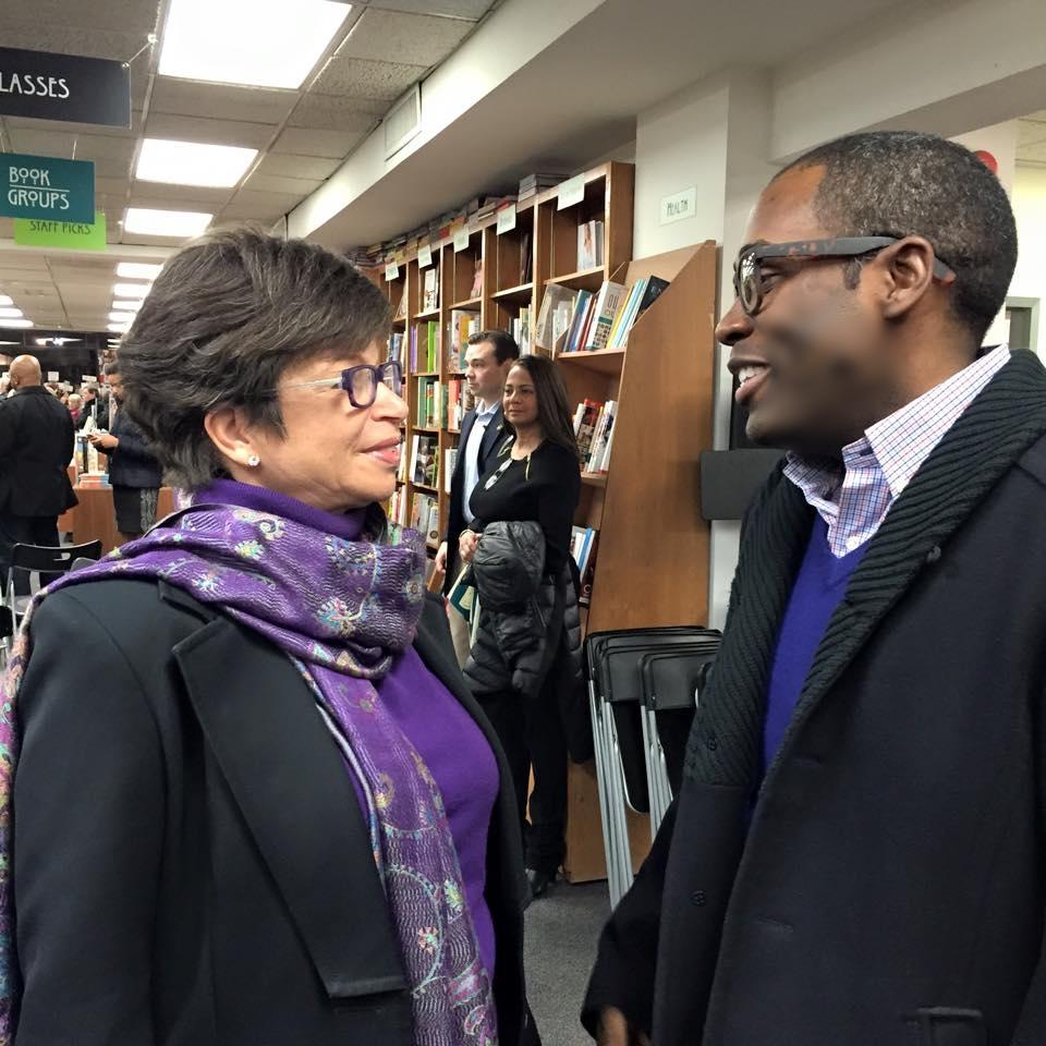 Speaking w/ White House Sr. Advisor Valerie Jarrett