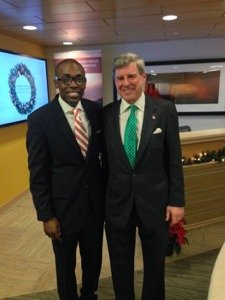 With Ambassador Paul Bremmer