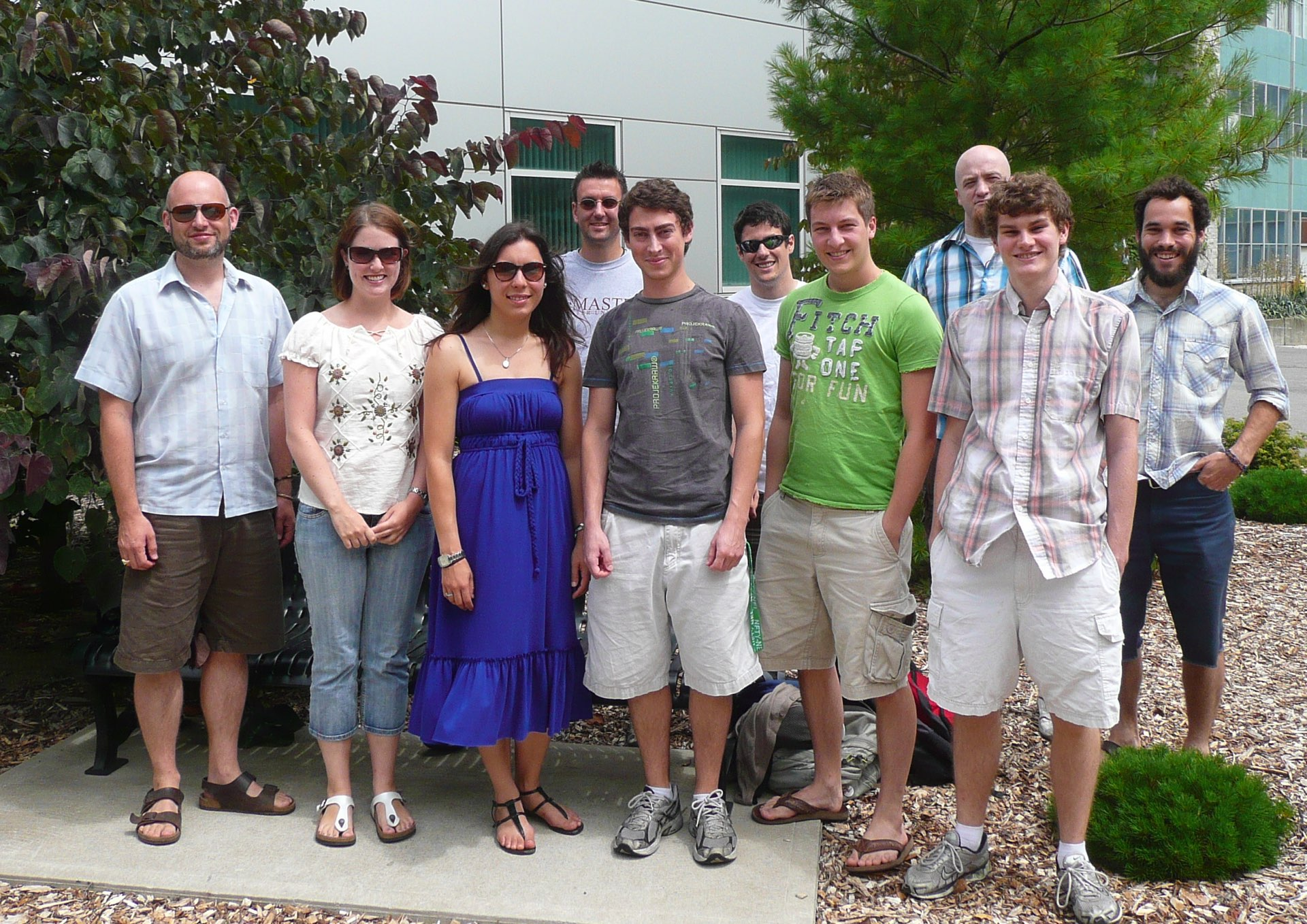 Group, Summer 2011