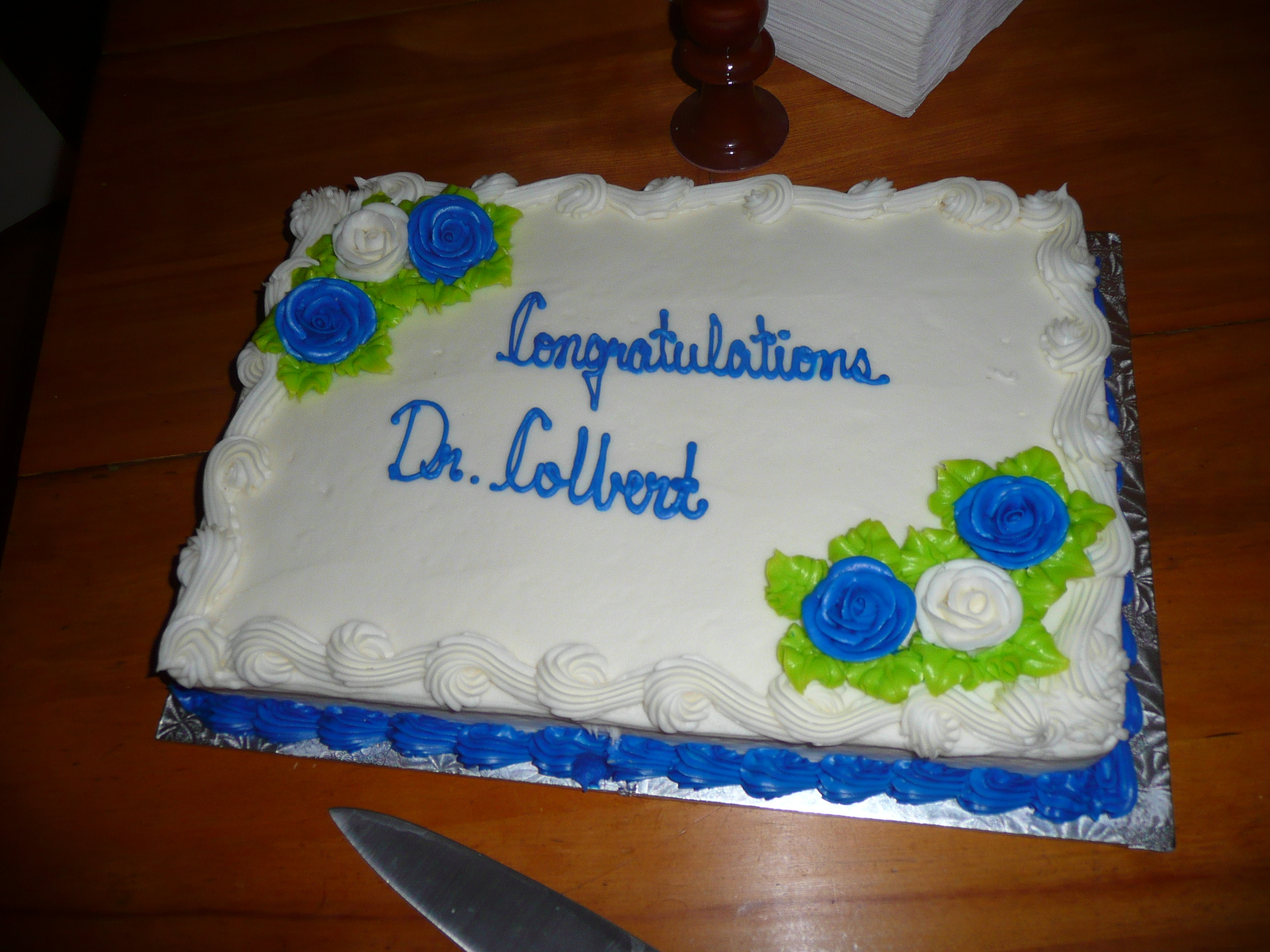 Phd defence party for the newly crowned Dr. Marie-Josee Colbert