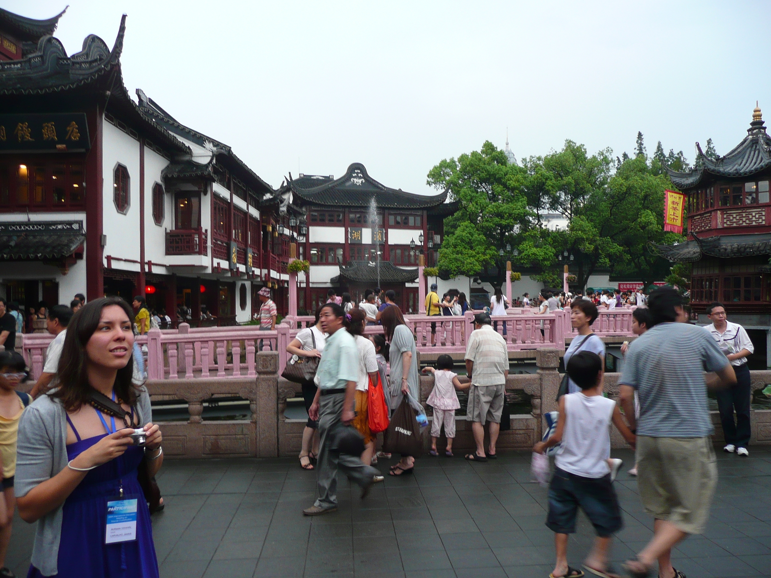 Jess in Shanghai (International Discussion Meeting on Polymer Crystallization, Shanghai.