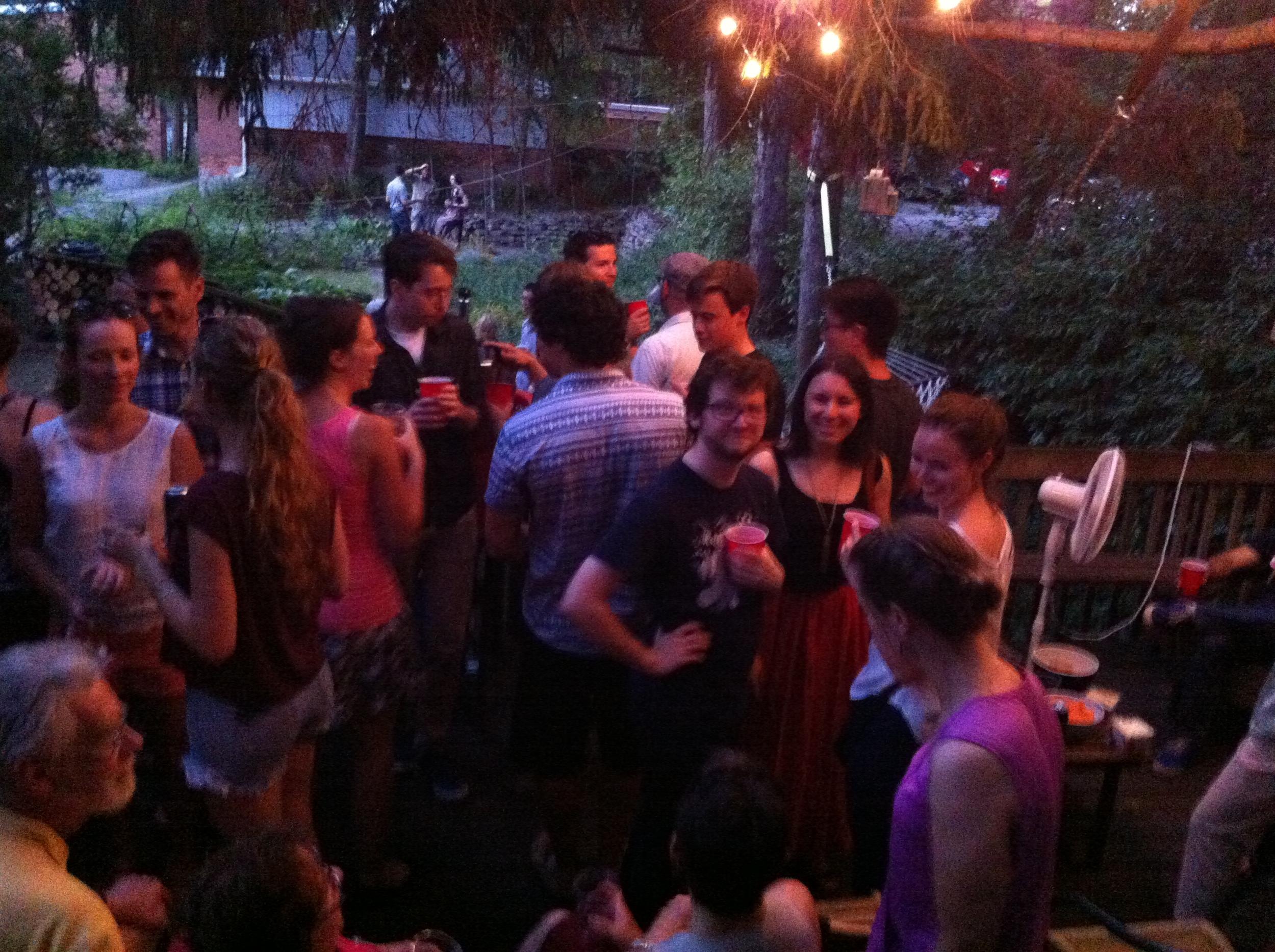 Dr. Backholm PhD Party!