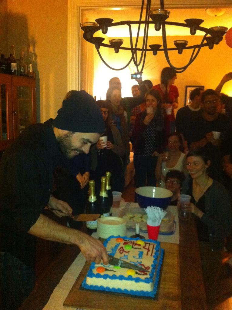 Dr. Josh McGraw, massive party.