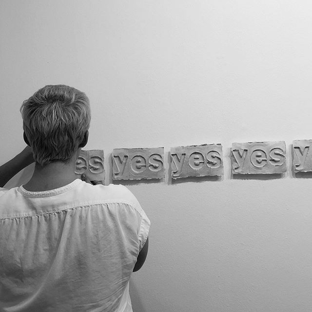 (yes) to install day  holding weight  reception thursday 6-8:30p