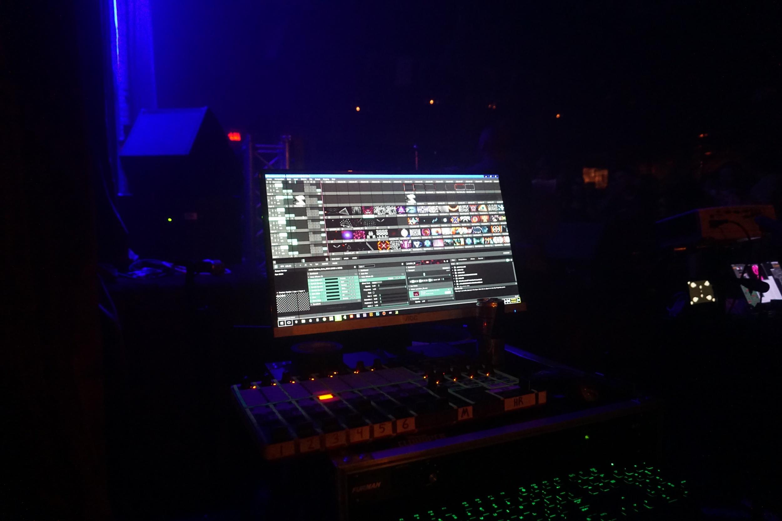 Visuals and LED lights from Minneapolis company Playata.