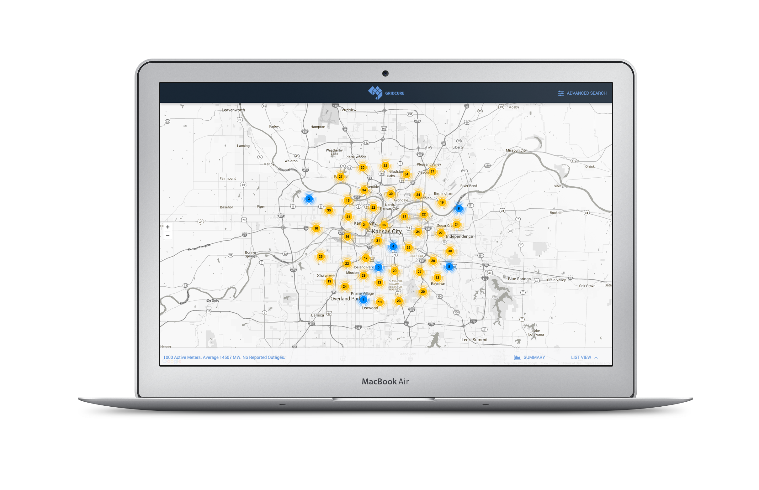 GridCure provides analytics for Utilities to anticipate equipment failures, among other solutions. Images courtesy of    GridCure   .