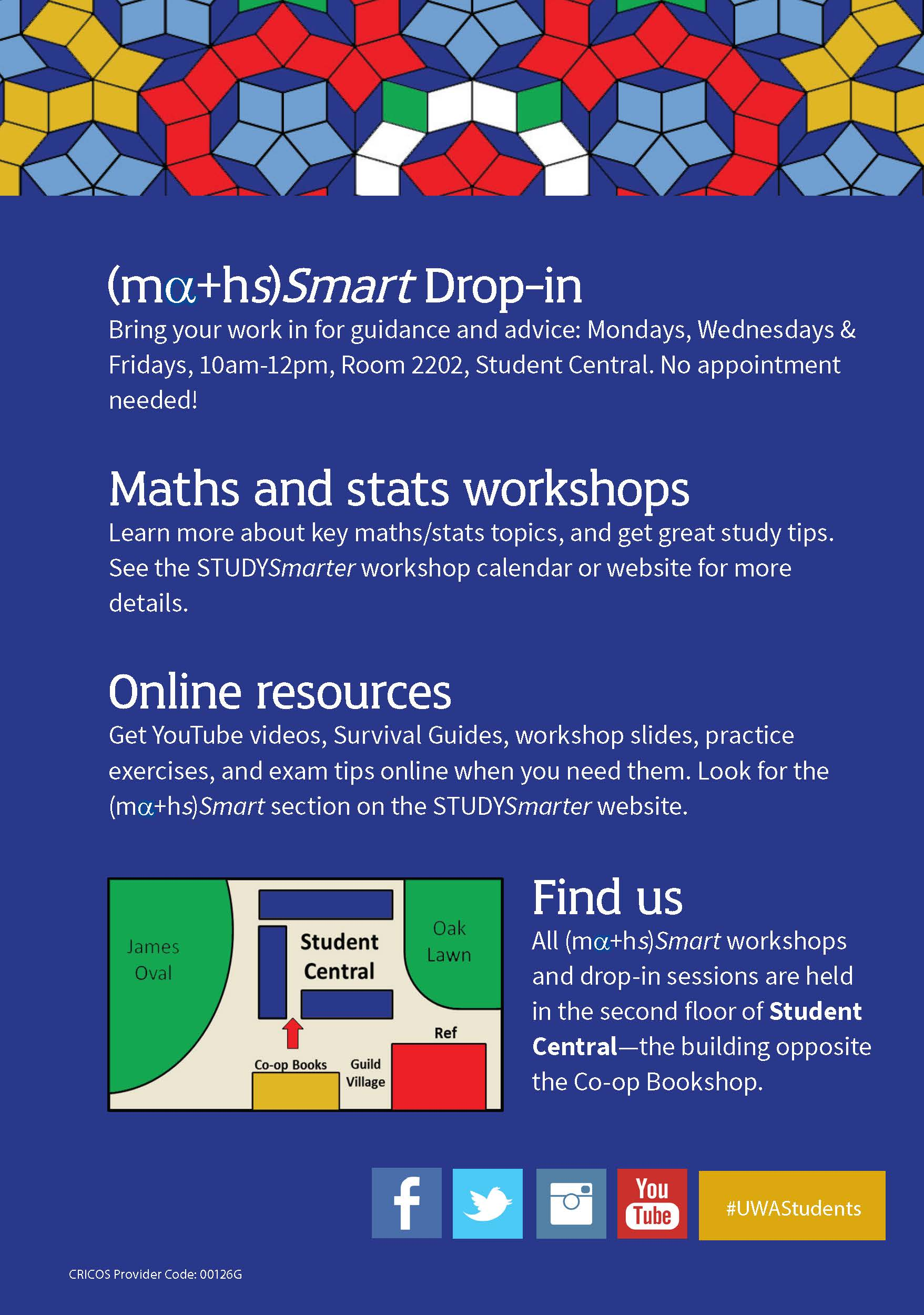 A5 Maths Flyer, 2016 (back)