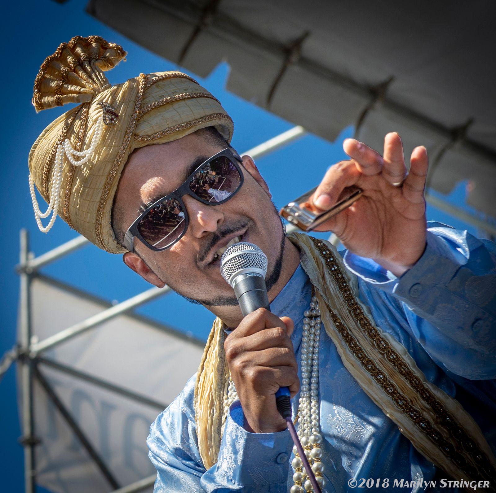 "Indian-born, San Jose-based aka ""The Only Bombay Blues Man""   Aki Kumar's Bollywood Blues    Learn More"