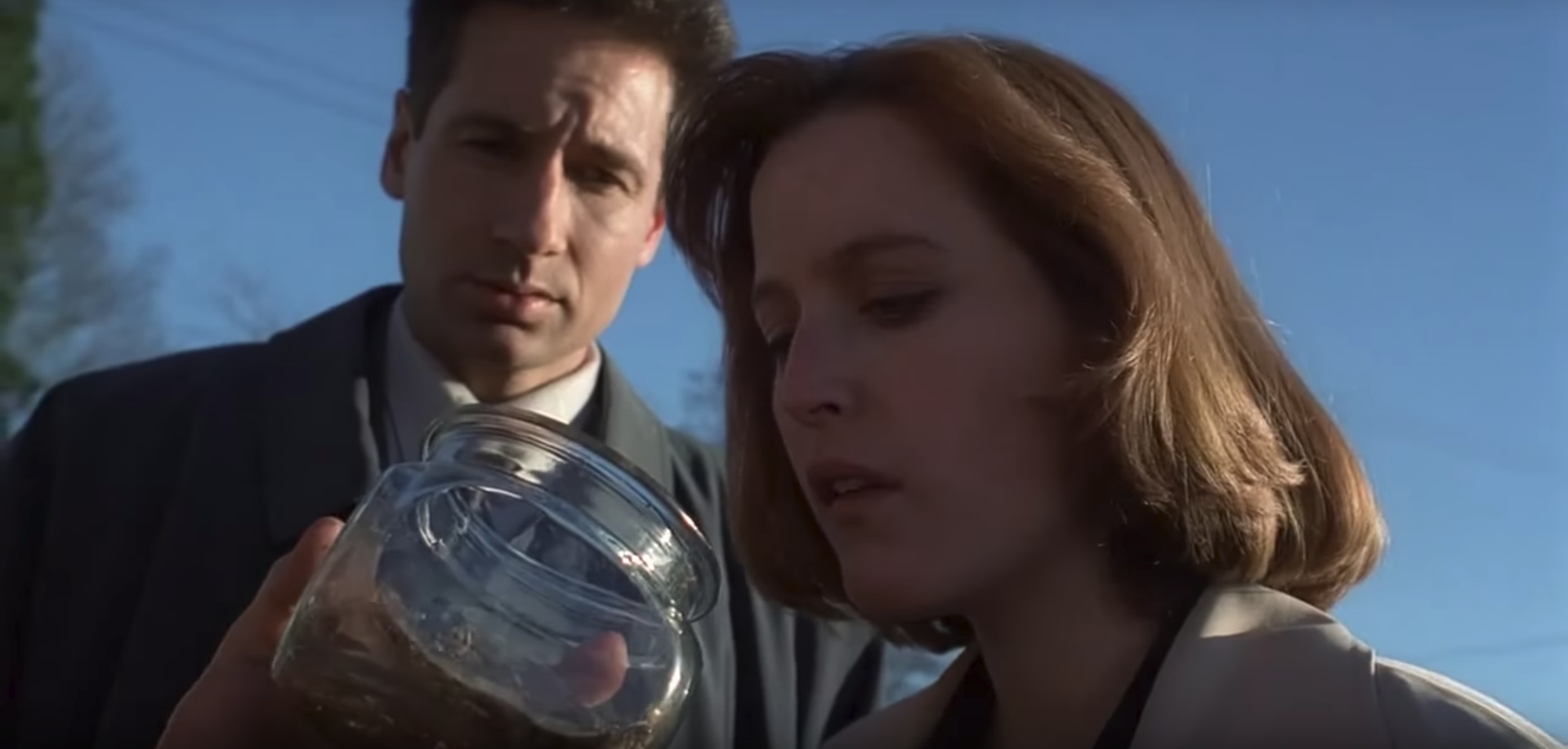 My Favorite Murder if they were Scully from The X-Files