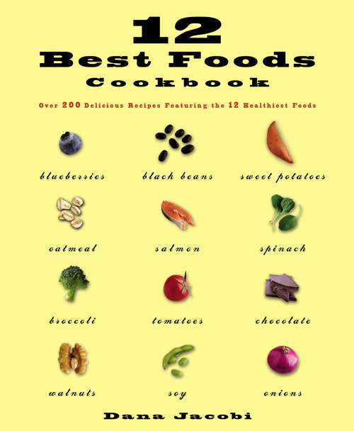 Eat these dozen foods as often as you should helps you have optimal protection against aging and disease. The recipes help you broccoli, blueberries, black beans, chocolate, oats, onions, salmon, soy, spinach, sweet potatoes and walnuts daily and truly enjoy them. daily. Everyday Ways tells how to do this even without recipes on days when you're busy.   Amazon  /  Barnes & Noble