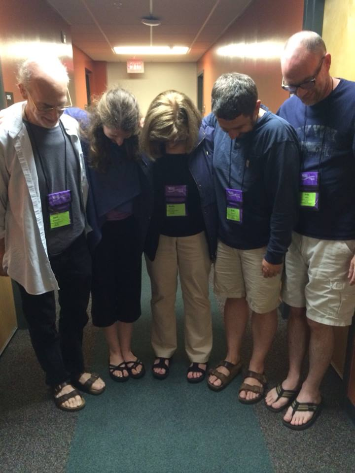 The Mountain Collegium Faculty realizes it has a sandal problem.