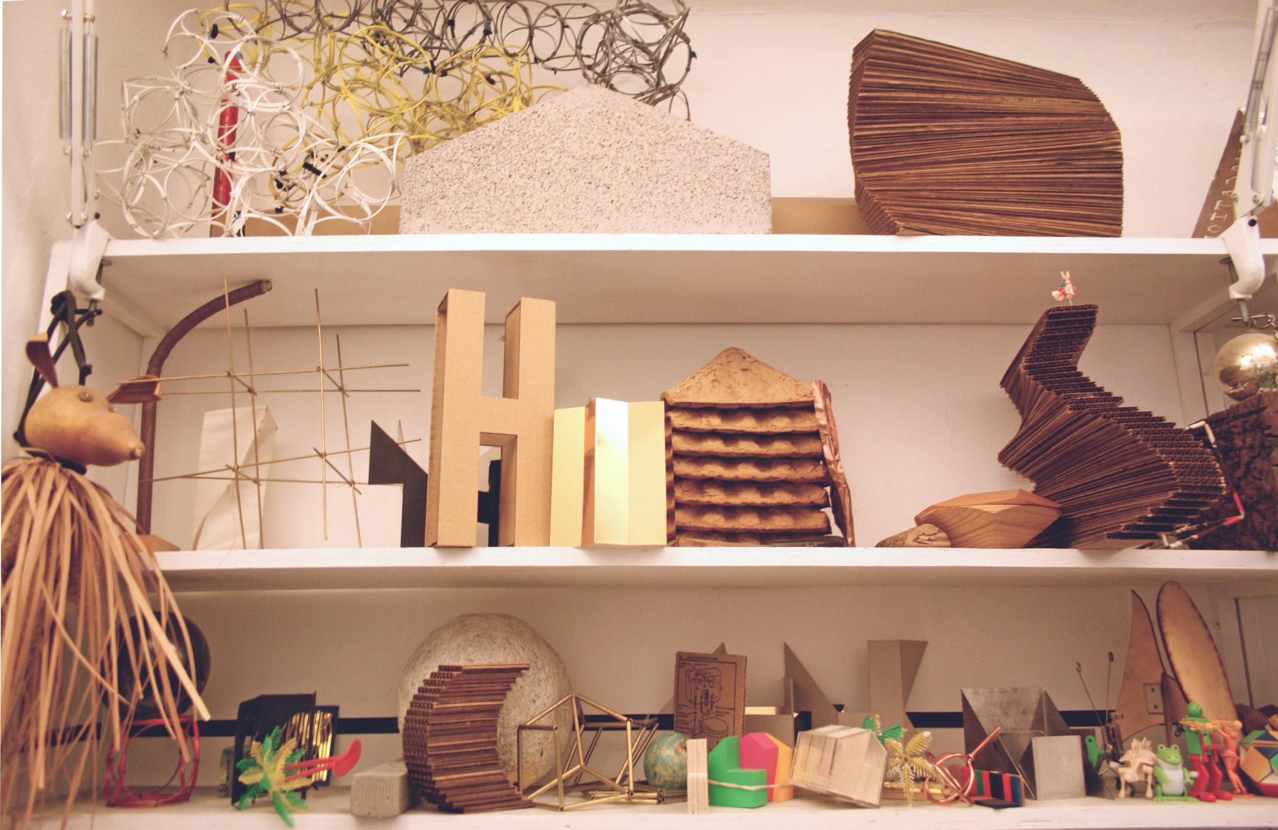Models' shelf