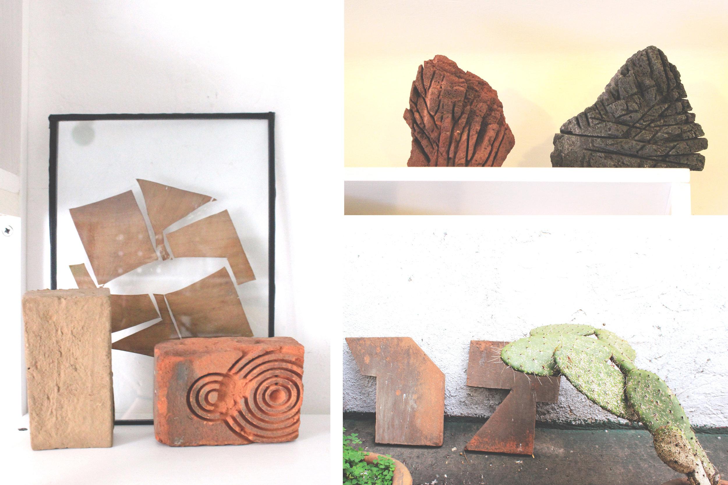 Intervened bricks experiments