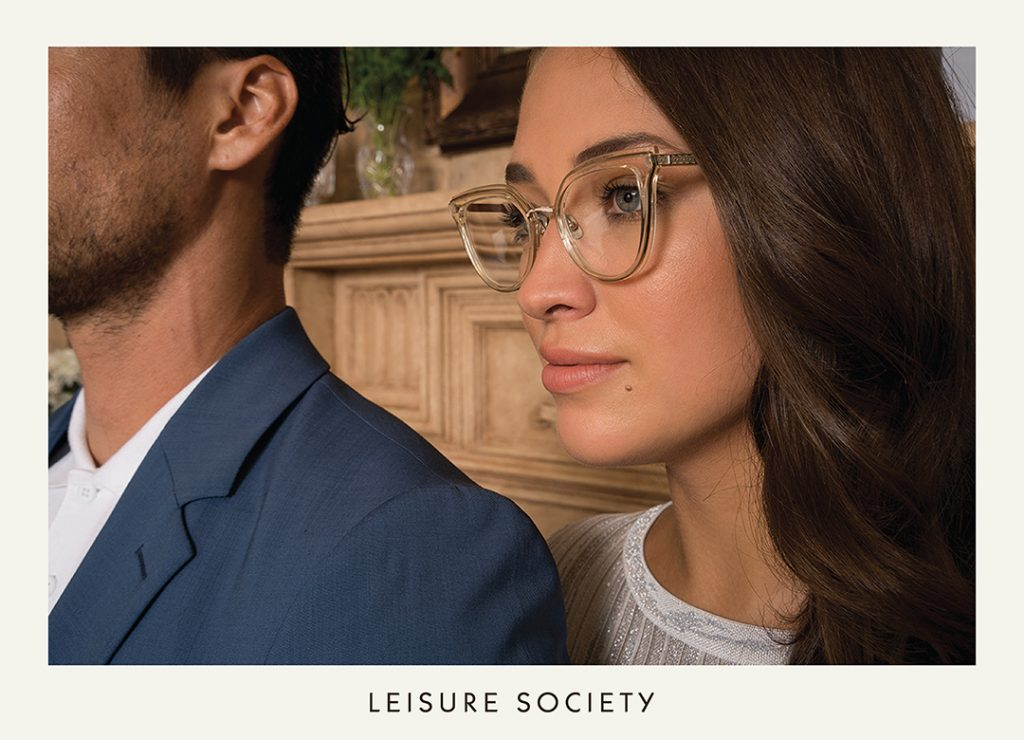Handcrafted in Japan, The Leisure Society collection consists of 12k, 18k, and 24k gold-plated titanium along with the highest quality cotton-based acetate.
