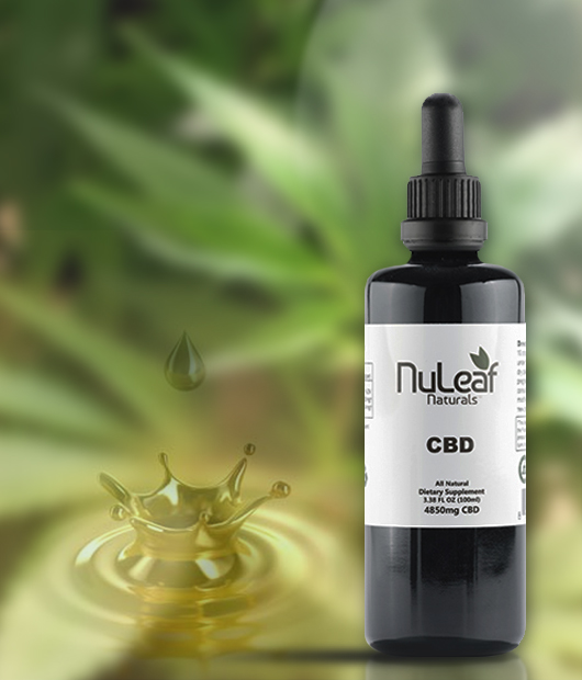 CBD oil and topicals are good partners.